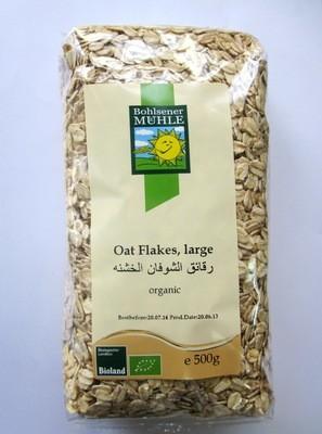 Bohlesener Muhle Oat Flakes (Large) - 500g