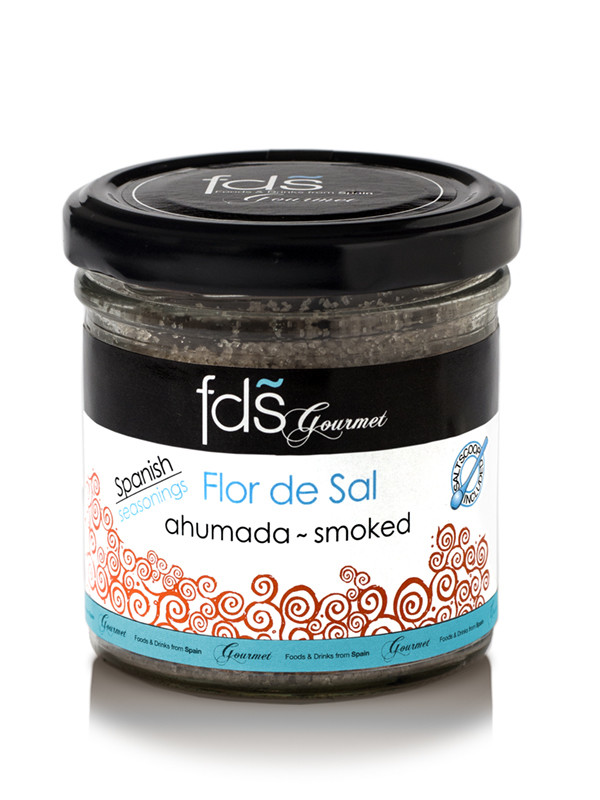 Flor de sal- smoked - 110 gms