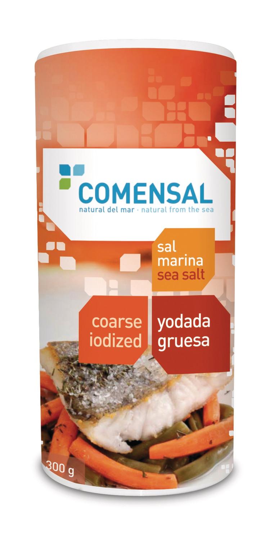 Commensal Drum shaker- Coarse sea salt- Iodized - 300 gms