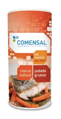 Commensal Drum shaker- Coarse sea salt- Iodized - 300 gms