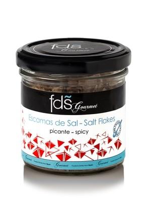 Sea salt flakes-spicy - 70 gms