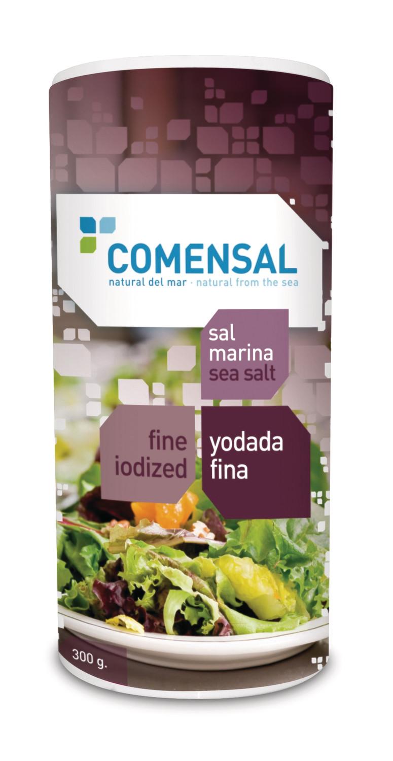 Commensal Drum shaker- Fine sea salt- iodized - 300 gms