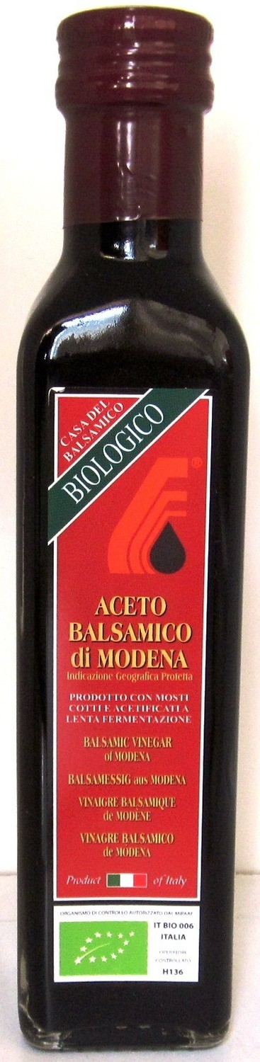 Casa Del Balsamico Balsamic Vinegar of Modena - 250ml