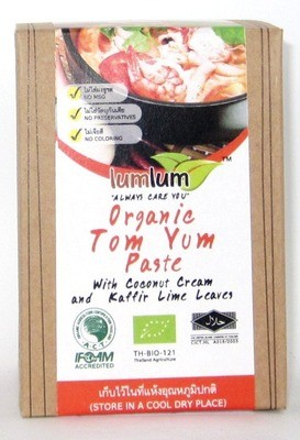Chita Tom Kha Paste with Coconut Cream & Kaffir Lime Leave - 100g