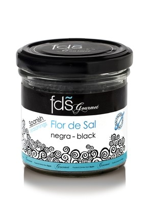 Flor de sal- Black - 110 gms
