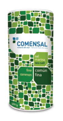 Commensal Drum shaker- Fine sea salt - 300 gms