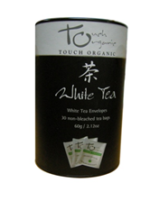 Touch Organic White Tea - 30 Tea Bags