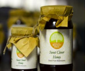 Under The Mango Tree Sweet Clover Honey - 200g