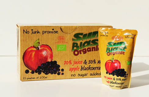Sunblast Apple & Black Currant - 200ml