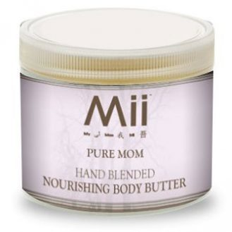 Mii PURE MOM  NOURISHING BODY BUTTER- LAVENDER & GERANIUM - 236gm
