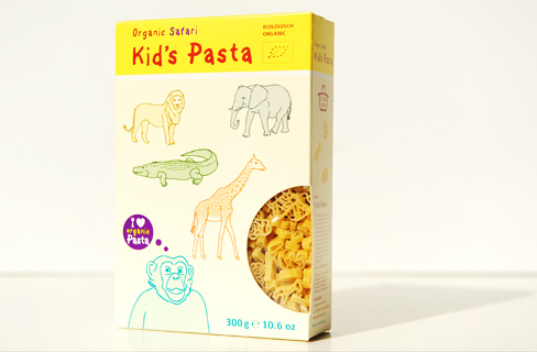 Organic Safari Kids Pasta - 300g