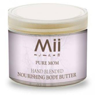 Mii PURE MOM  NOURISHING BODY BUTTER- LAVENDER & GERANIUM - 236gm