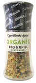 Cape Herb & Spice Organic BBQ & Grill Seasoning - 60g