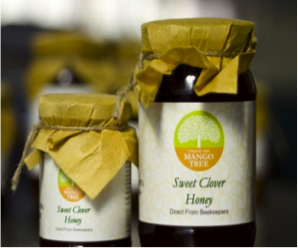 Under The Mango Tree Sweet Clover Honey - 200g