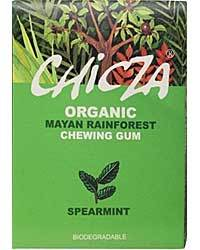 Chicza Organic Chewing Gum SpearMint - 30g