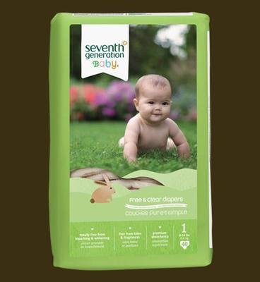 Seventh Generation Diapers (Stage 1) - 40 pcs