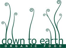 DOWN TO EARTH -  BLACK EYED BEANS 500g