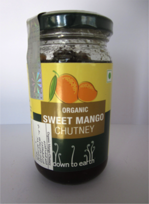 Down To Earth Sweet Mango Chutney - 220g