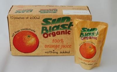 Sunblast Orange Juice - 200ml