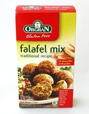 ORGAN Gluten Free Falafel Mix - 200gm