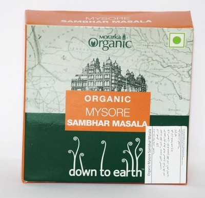 Down To Earth Mysore Sambhar Masala 4x5g