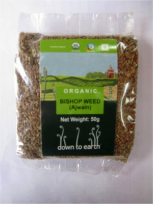 Down To Earth Bishop Weed - 50g