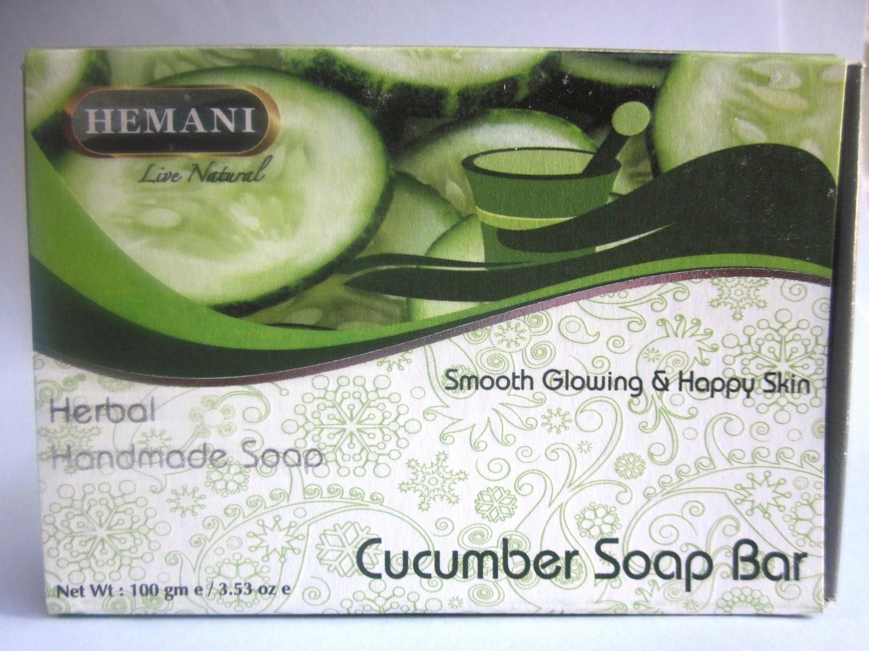 Hemani Cucumber Soap - 100g