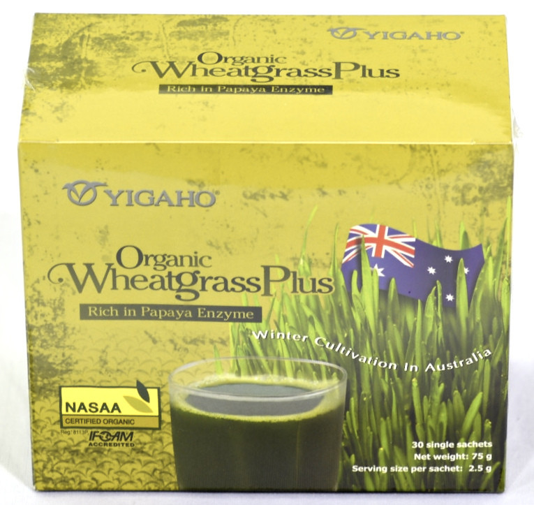 YIGAHO WHEAT GRASS - 2.5G*30ml