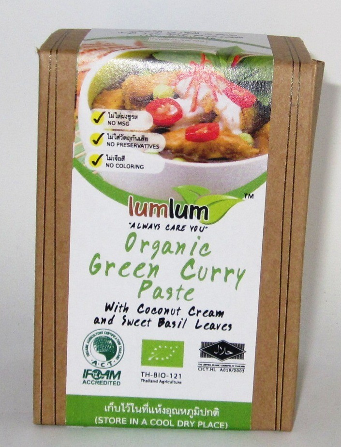 Chita Green Curry Paste with Coconut Cream & Sweet Basil Leave - 100g