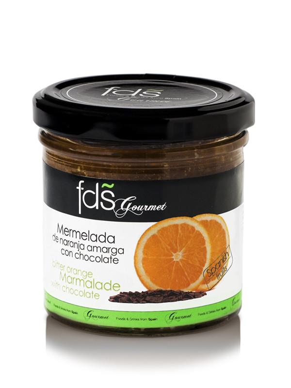 Bitter orange marmalade with chocolate - 185 gms