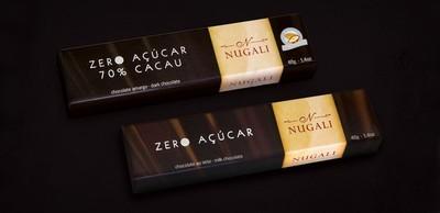 SUGAR FREE DARK CHOCOLATE 70% COCOA 40G