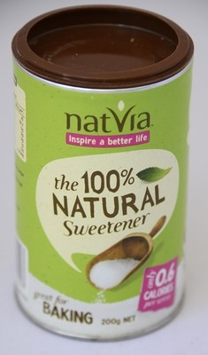 NATVIA CANNISTER - 200gm (Great for baking)