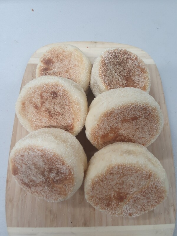English Muffins 6 Pack ( Flour based)