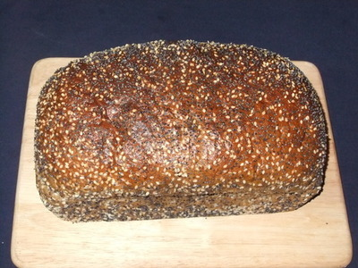 American rye loaf ( Flour based bread)