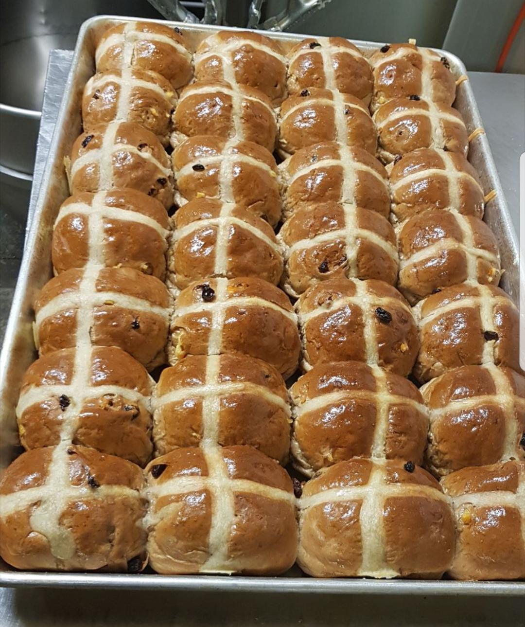 HOT CROSS BUNS 12 PACK