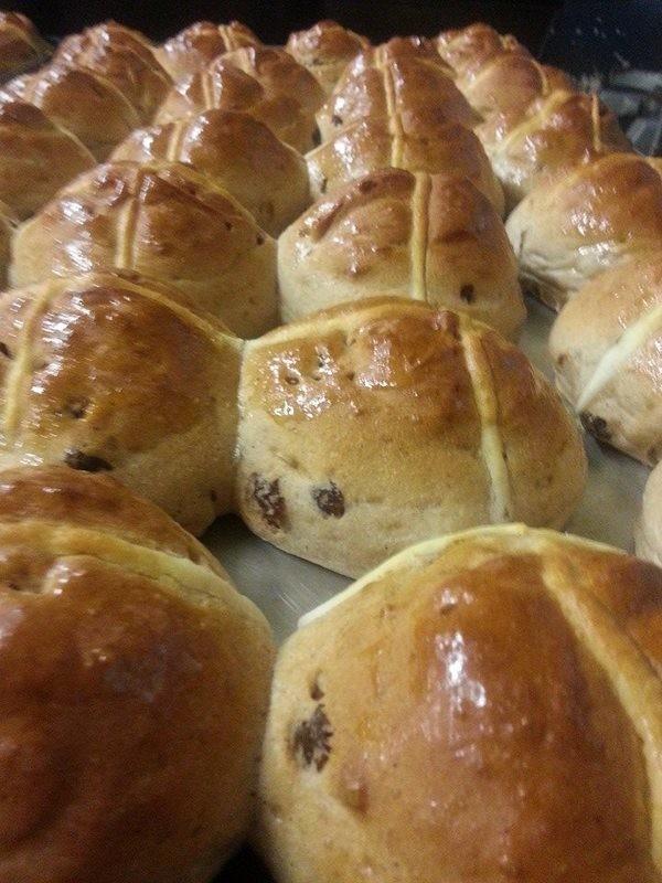 Gluten Free Hot cross bun 6 pack