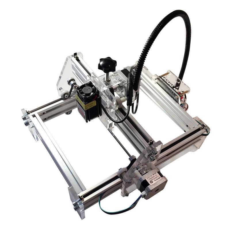 Laserax DIY Desktop Mini Laser Engraving Machine Laser Engraver Cutter 17X20cm 500mW-7000mW