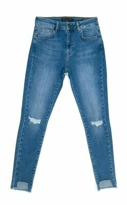 ARETHA JEANS-TAILLE HAUTE-