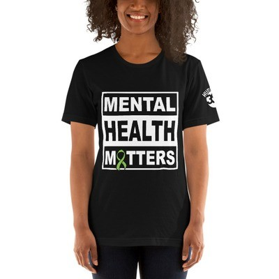 HUMANITY 360: Mental Health Matters: Short-Sleeve Unisex T-Shirt (Black)