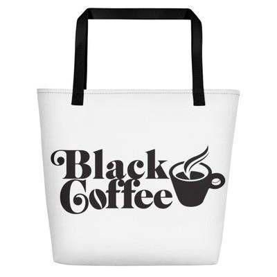 Black Coffee Bag