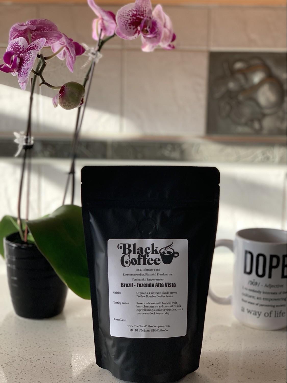 """Brazil - Fazenda Alta"" Vista Organic Coffee Beans"