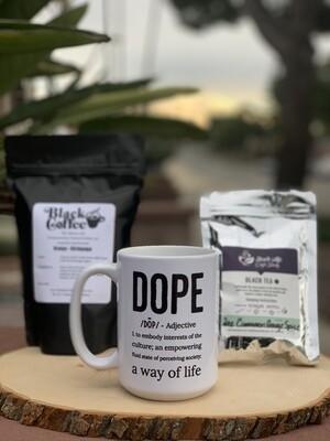 """""""Black Coffee & Tea"""" Package"""