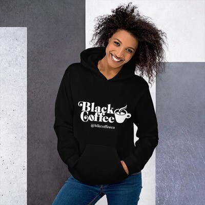 Black Coffee Unisex Hoodie [Black]
