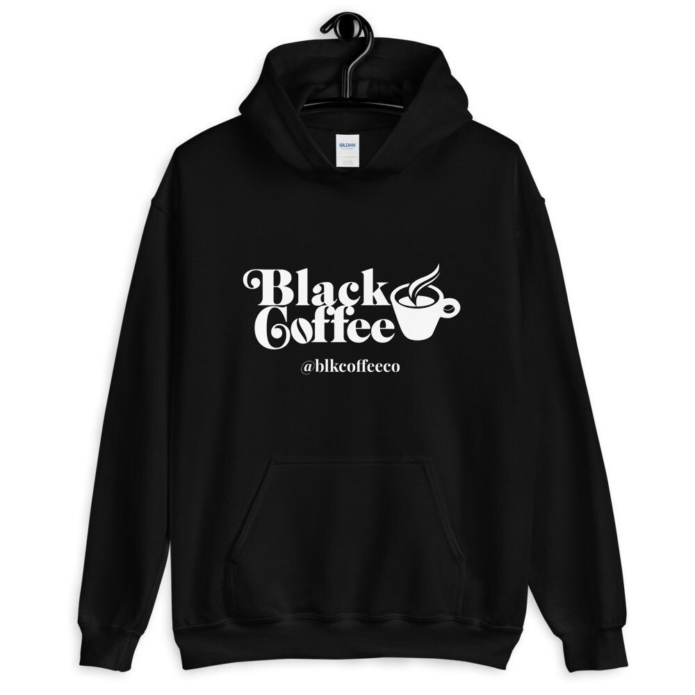 Black Coffee Co. Unisex Hoodie + Pop Socket Holiday Bundle