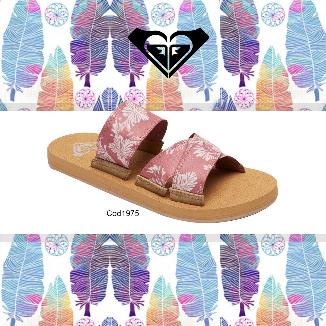 Sandalia Roxy Shoreside Criss-Cross Sandals