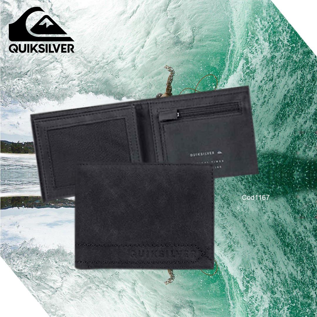 Stitchy Bi-Fold Wallet Quiksilver