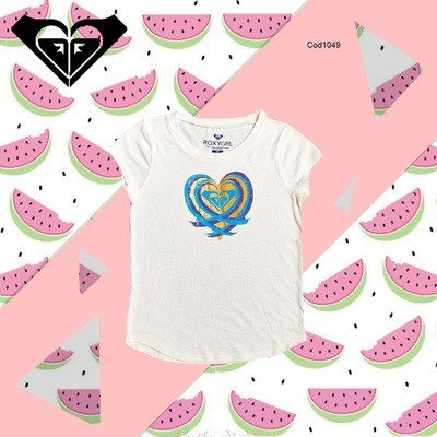 Playera This Is Love A Roxy