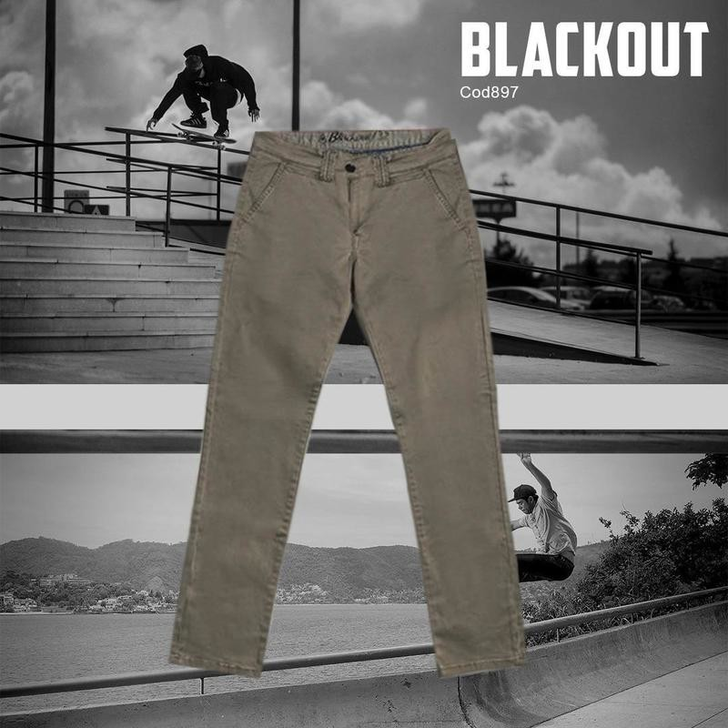 Pantalon Black out