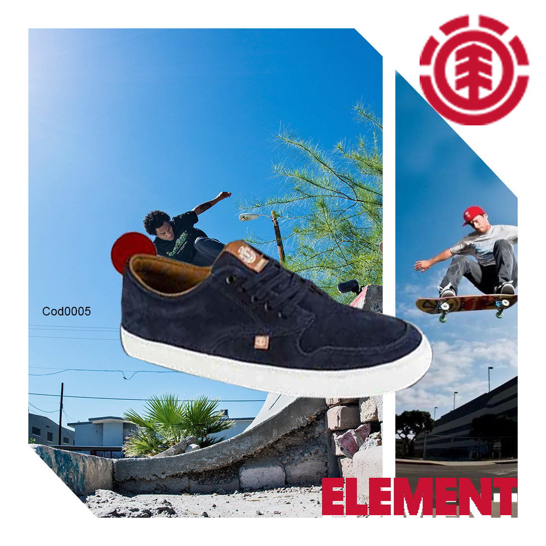 Tenis Navy Curry  Element