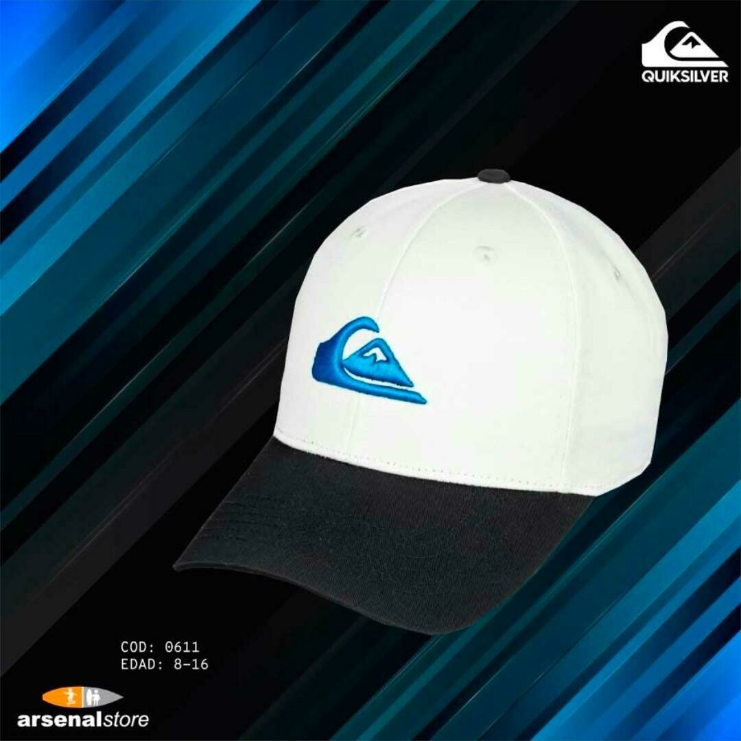 Decades Snapback Hat Quiksilver 8-16